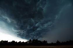Big bold cloud filled sky showing an approaching storm
