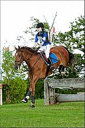 Lanes End Horse Trials Croos Country Jumping