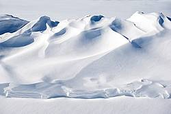 Photo of snow drift
